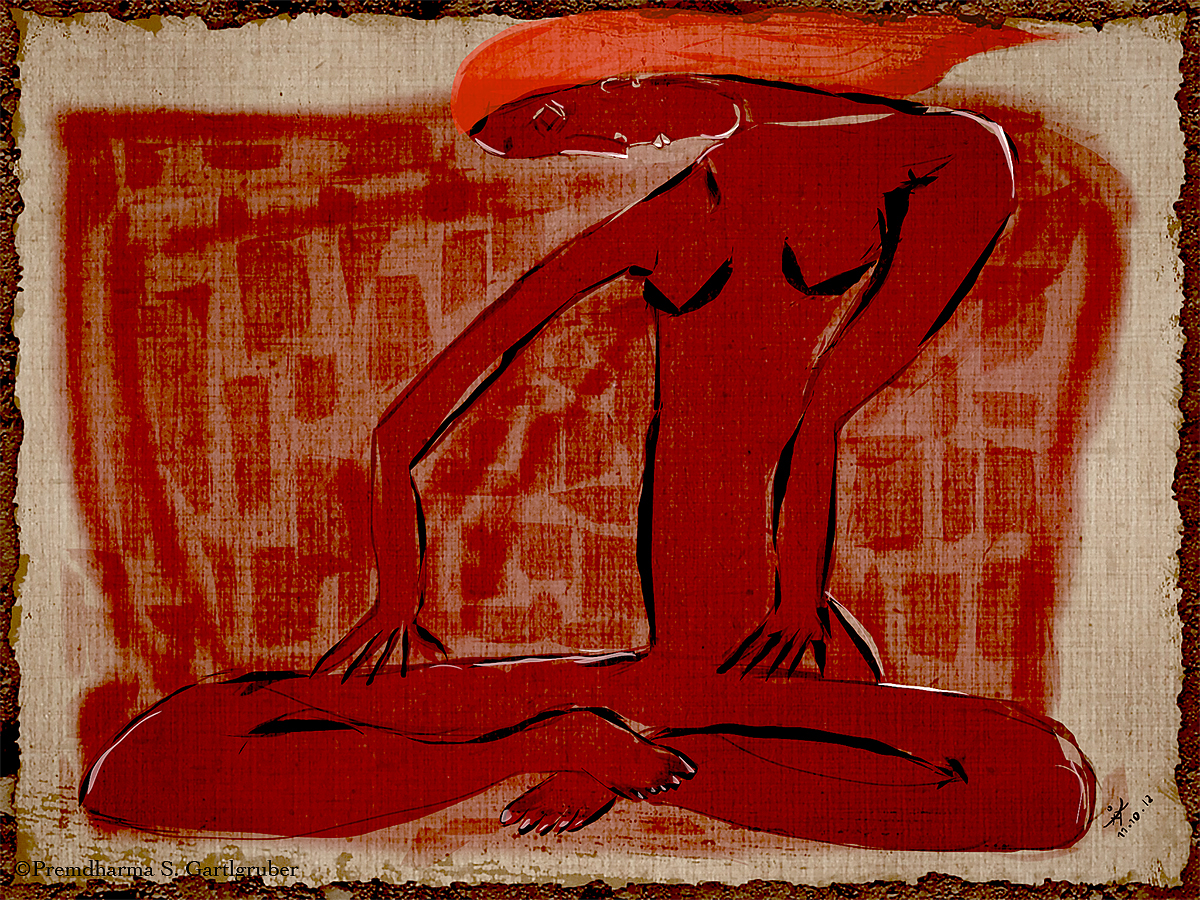 Adobe Portfolio iPad art Procreate Authentic painting   meditation