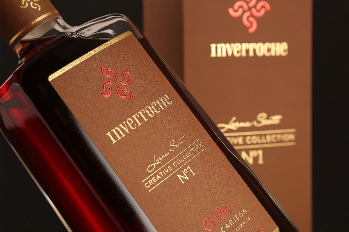 gin packaging design Packaging Inverroche inverroche creative collection liquor bottle design