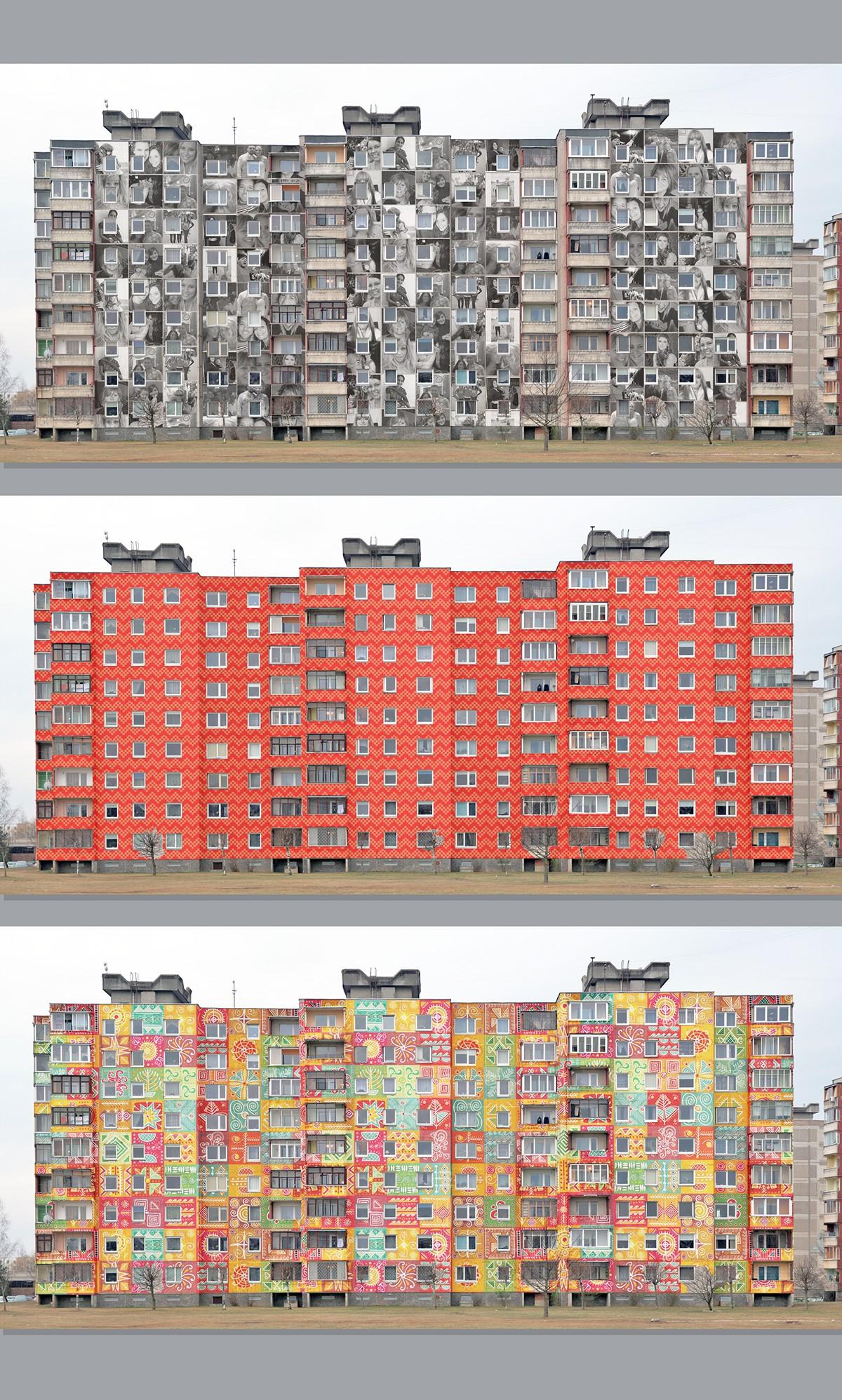 kaunas streetart lithuania Soviet gyvagrafika