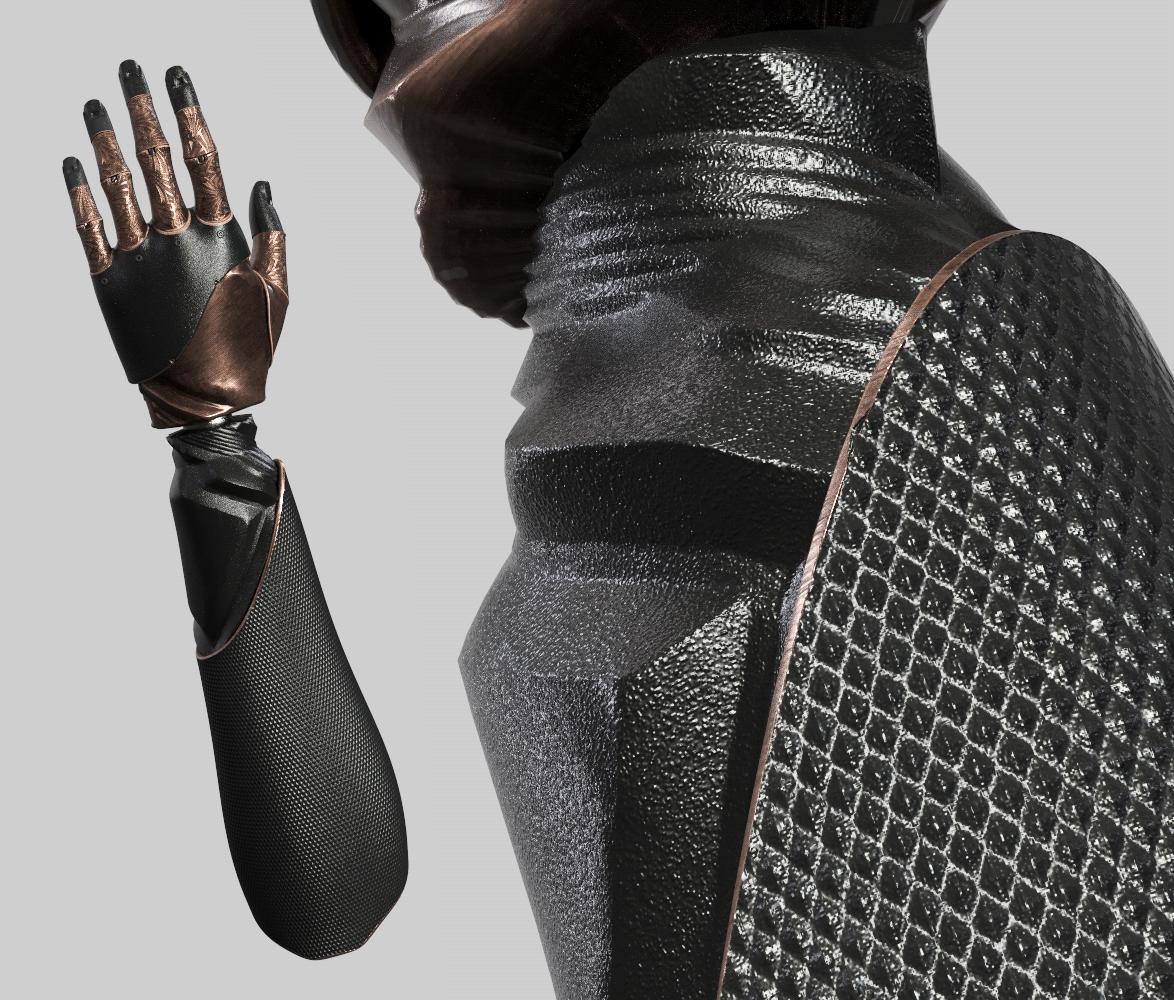 Cyberpunk Proshetic Arm & Character Design on Behance