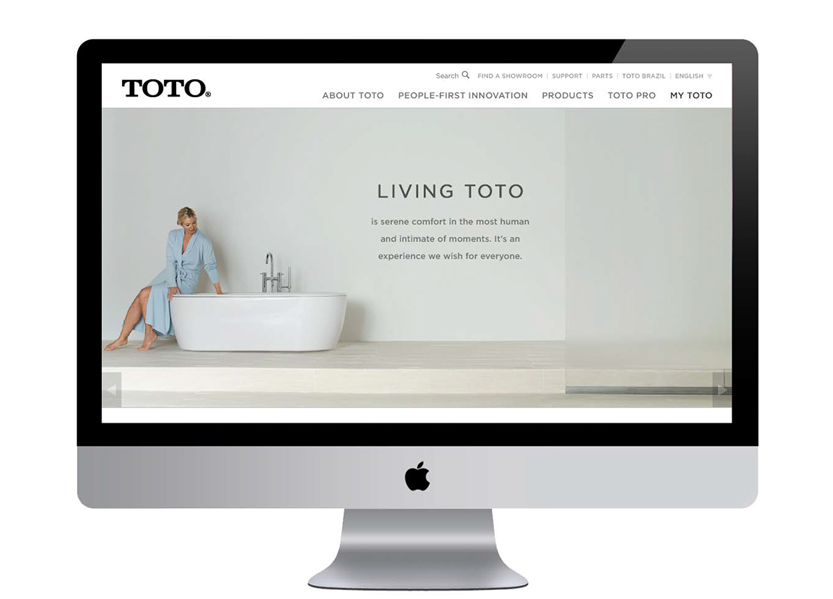 TOTO USA: Digital Ecosystem on Behance
