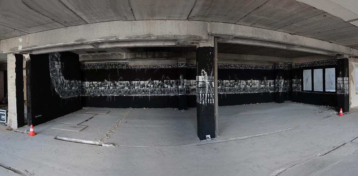 the krank Mural art Exhibition  berlin urban art contemporary mural Berlin art berlin artist Greek Artist