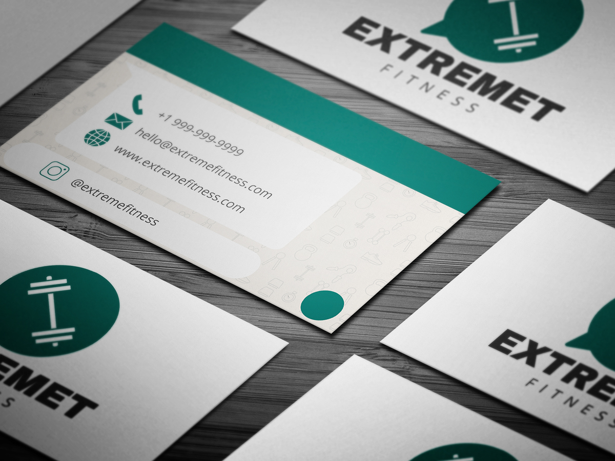 10 free professional fitness business card templates on student show 10 free professional fitness business card templates fbccfo Images