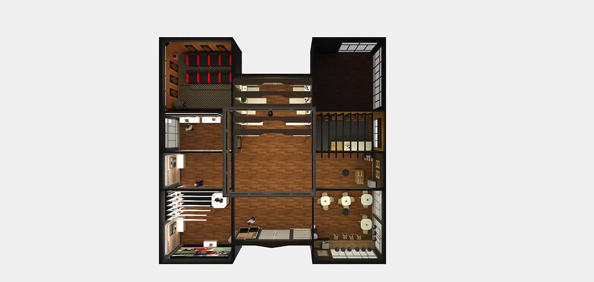 Interior SketchUP