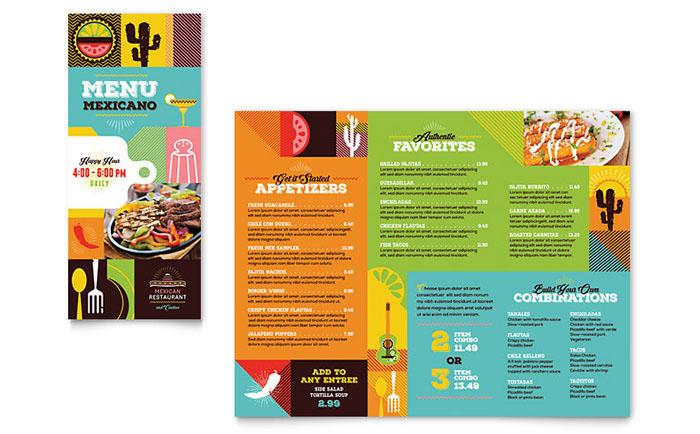 template menu brochure flyer advertisements print design  graphic design  business card letterhead