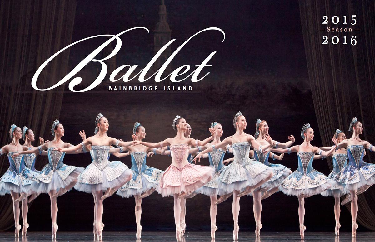 ballet Bainbridge Island ballet bainbridge Bainbridge Island bbi balletbi catalog marketing materials brochure Layout
