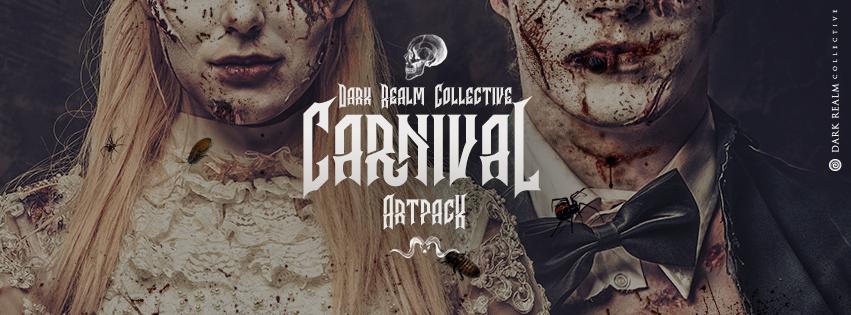 horror poster creepy Carnival Circus sideshow dark creeps