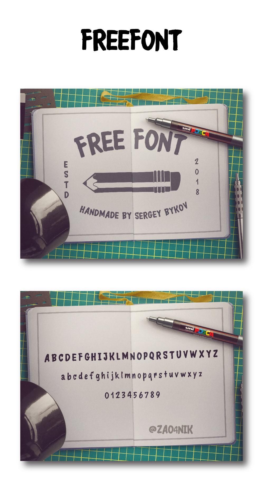 free freebie font design typography   alphabet brush Calligraphy   lettering Fontself