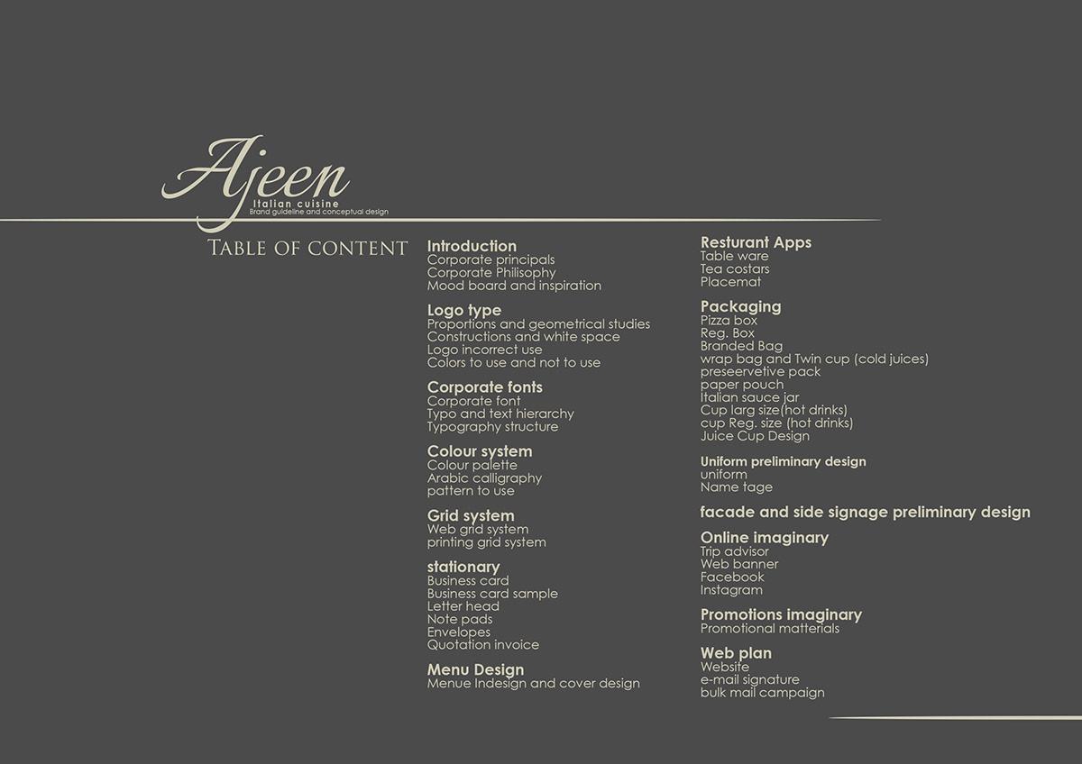 Ajeen Brand Guideline 2017 Dohaqatar On Pantone Canvas Gallery