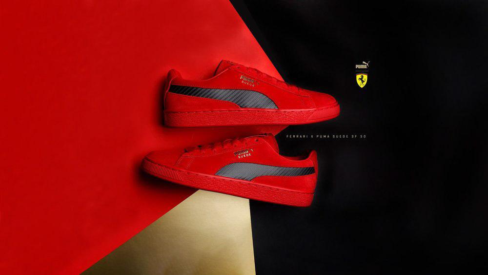Puma X Ferrari On Behance