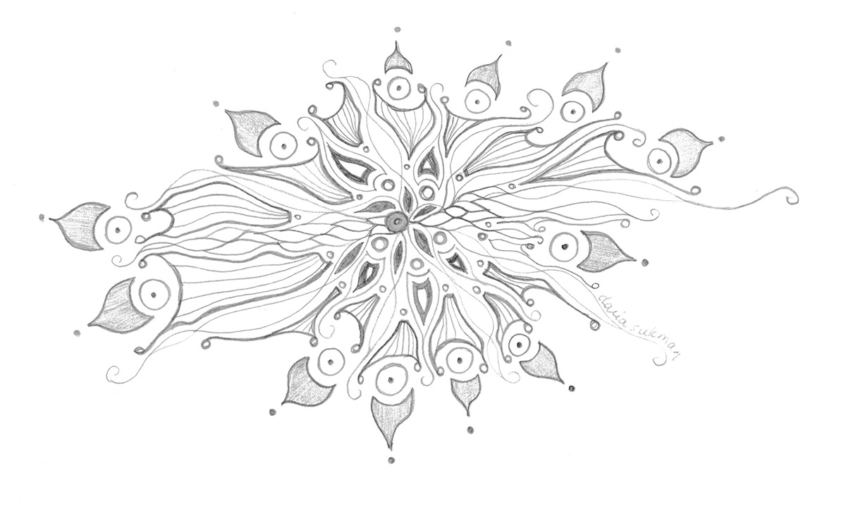 Mandala sketch BehanceTO