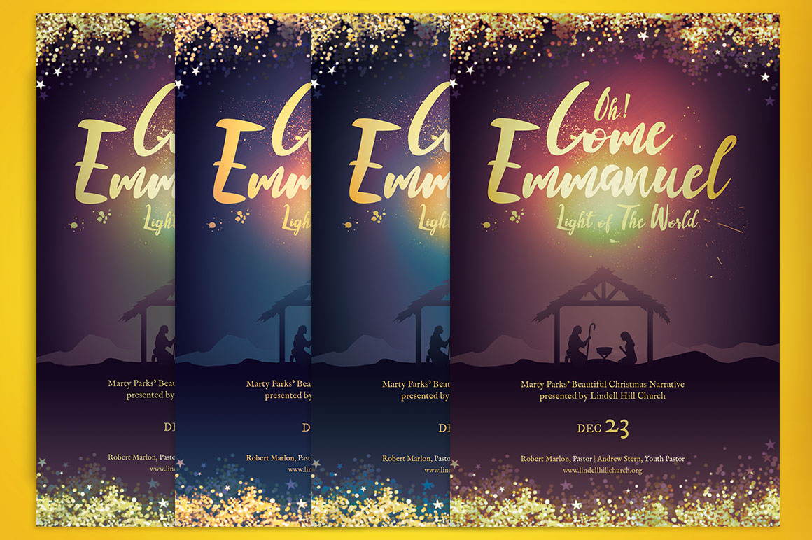 emmanuel christmas cantata program template on behance emmanuel christmas cantata program template is for events during the christmas celebration season great for christmas cantatas plays pageants banquets