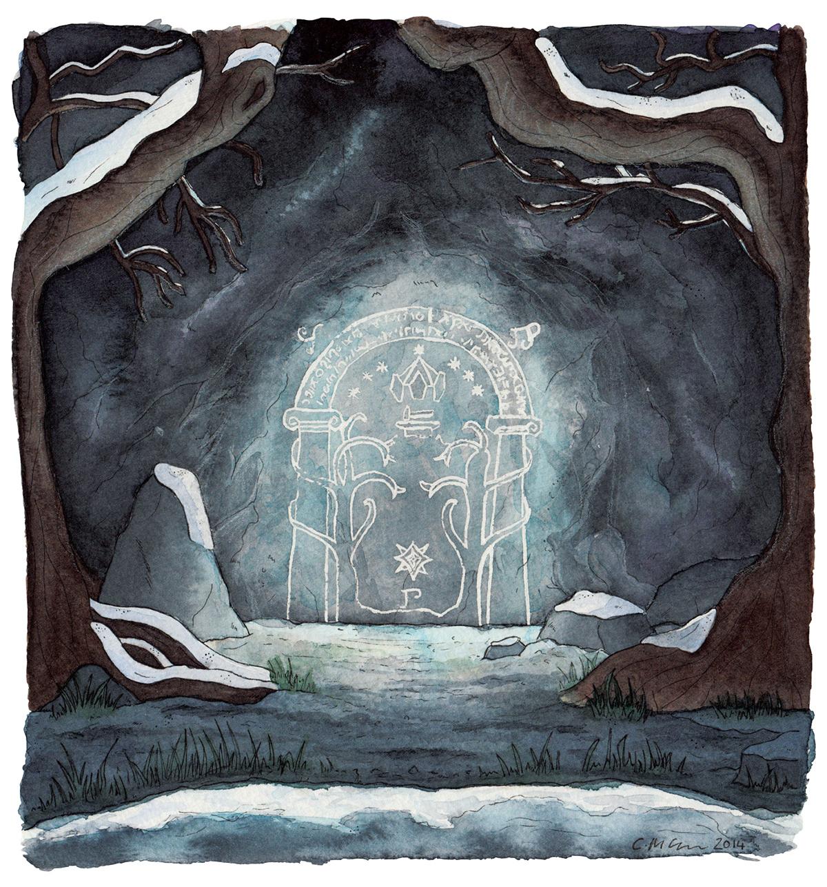 rings lord Christmas winter Hobbiton Rivendell moria j r.r tolkien literature fantasy