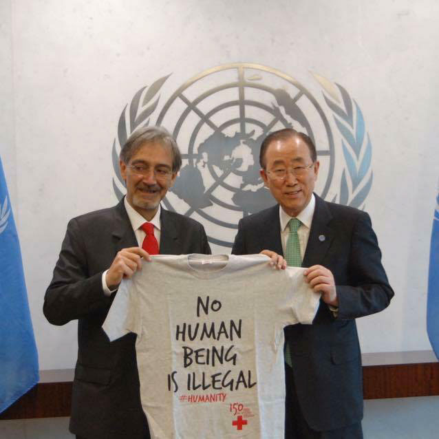 Croce rossa humanity umanità UnItaliaCheAiuta