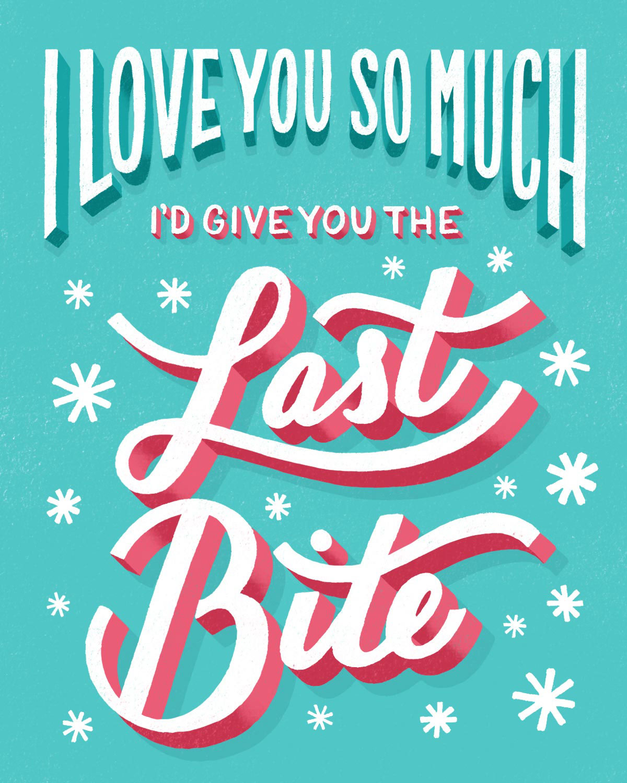 lauren hom K-Y Valentine's Day Love Notes social campaign sex life HAND LETTERING Lettering Workshop greeting cards K-Y Yours+Mine