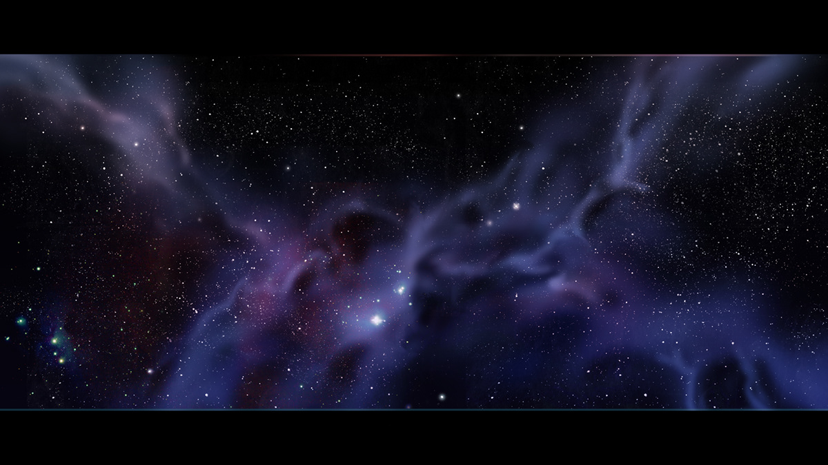Image may contain: screenshot, galaxy and universe