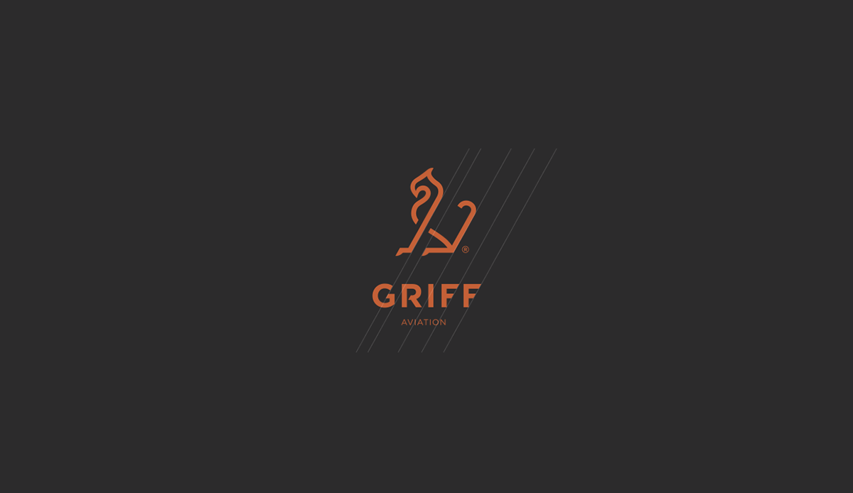 KIND branding  drone identity corporate aviation griff Fly airline design
