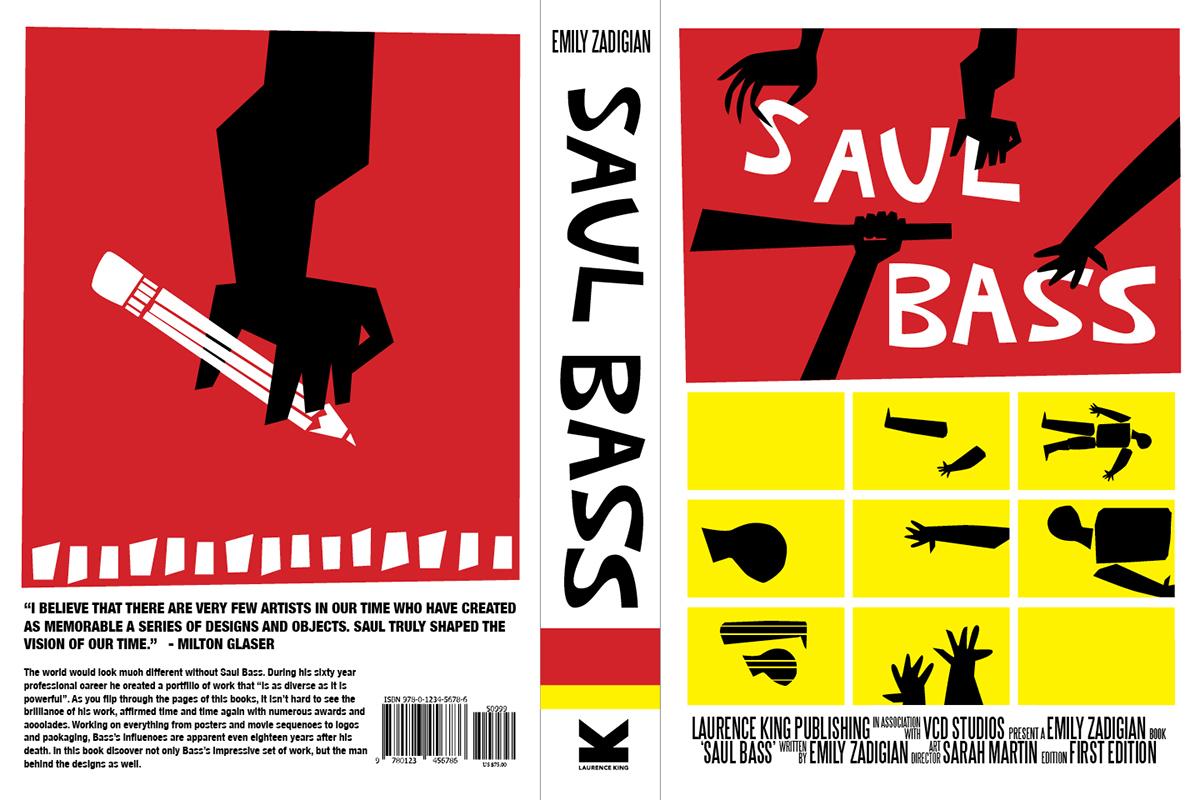Saul Bass Book Cover on Behance