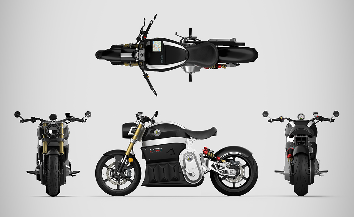 Rhino motorcycle cad 3d modeling