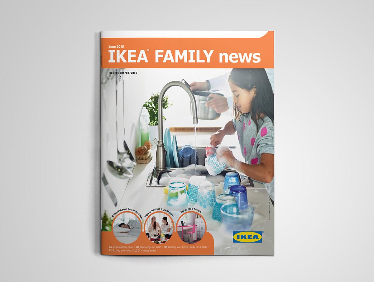 Ikea Family Newsletter Summer 2015 Singapore On Behance