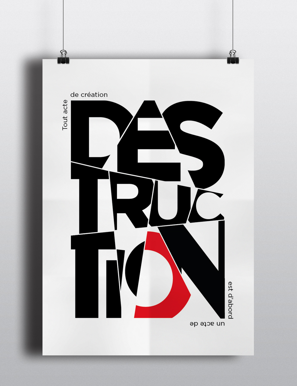 l affiche typographique on behance