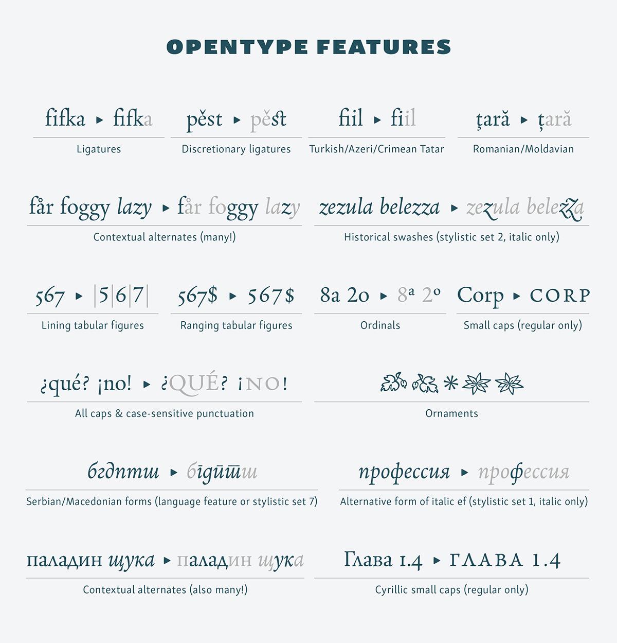 Neacademia rosetta type foundry Sergei Egorov Typeface font serif book Cyrillic non-latin multi-script