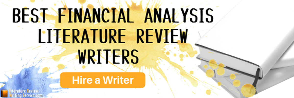 help writing finance literature review