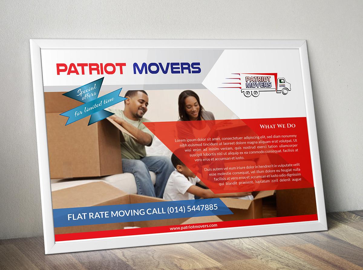 A5 Business Flyer On Behance Brochure Custom