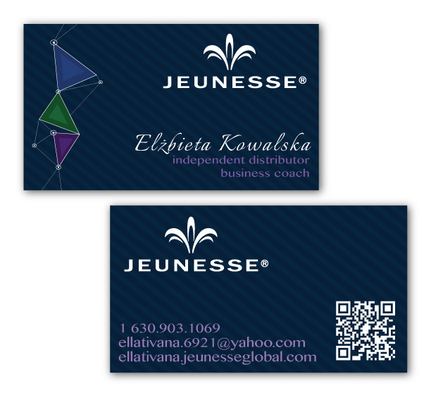 Business Cards - Jeunesse Global on Behance