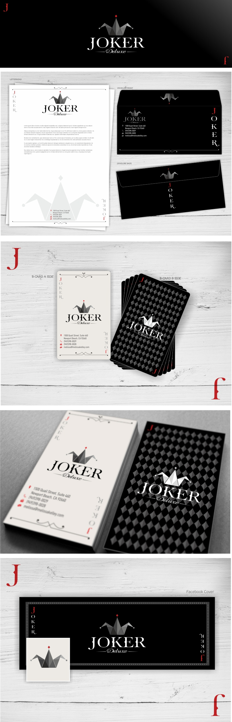 JOKER DELUXE Branding (AVAILABLE) on Behance