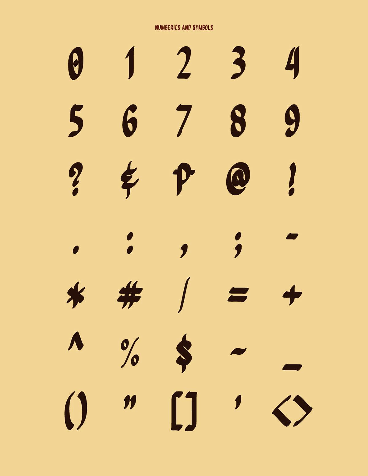 Quiapo Free — Brush Typeface on Behance