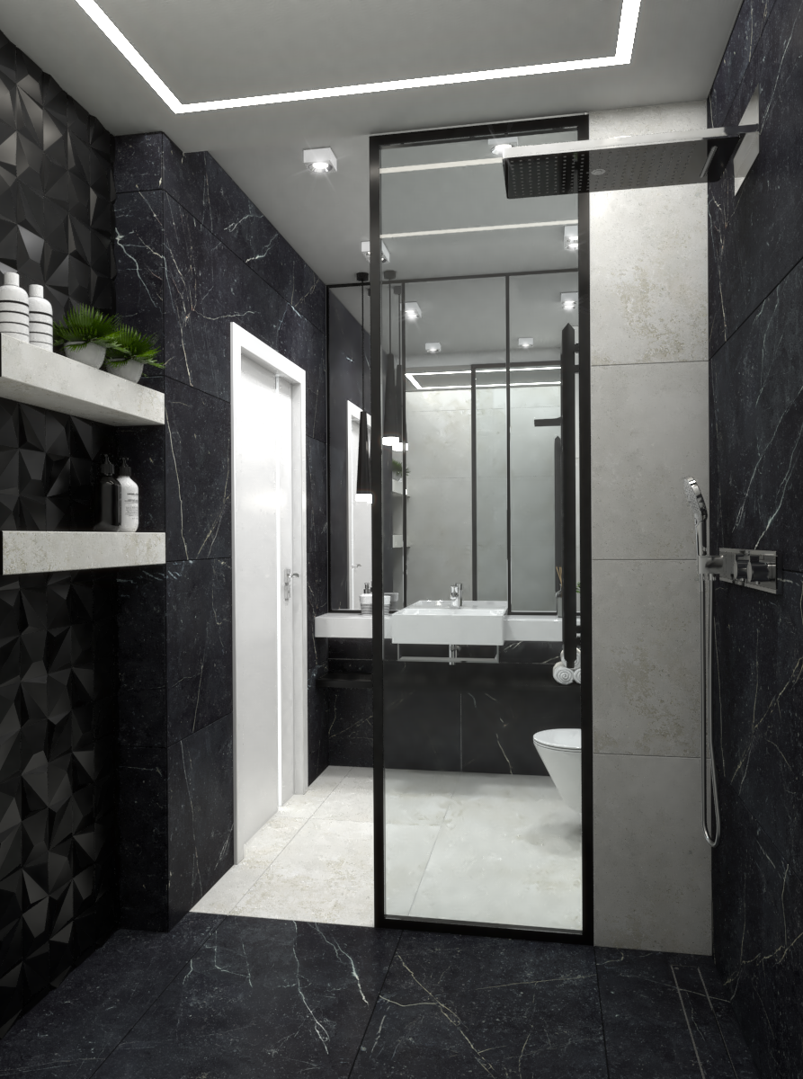 Image may contain: door, indoor and sink