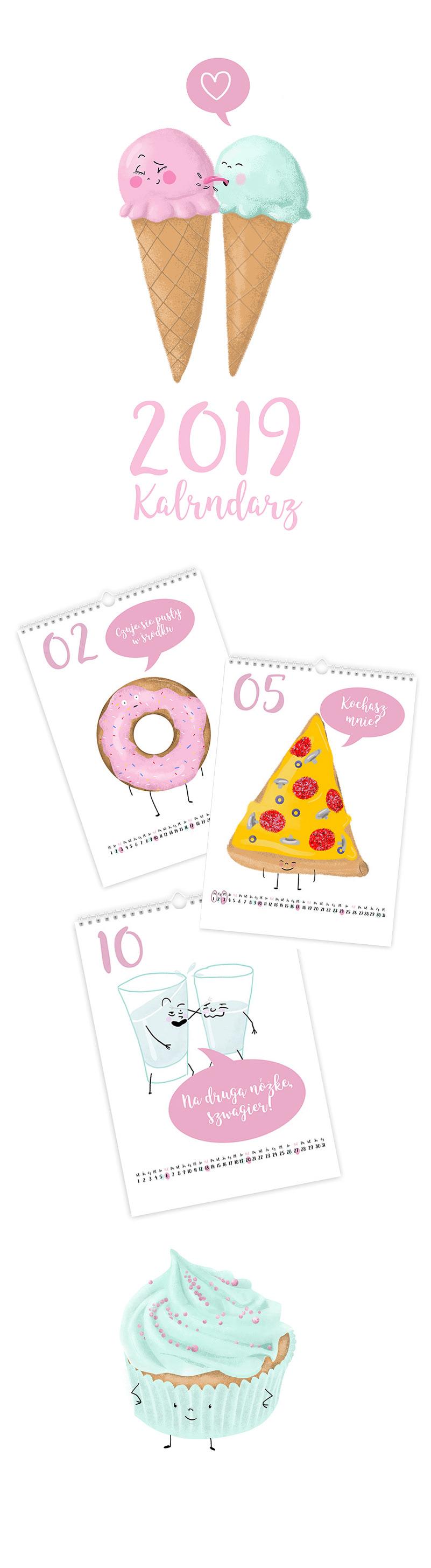 calendar icecream sweet Food  Sweets fastfood funny dessert hamburger Pizza
