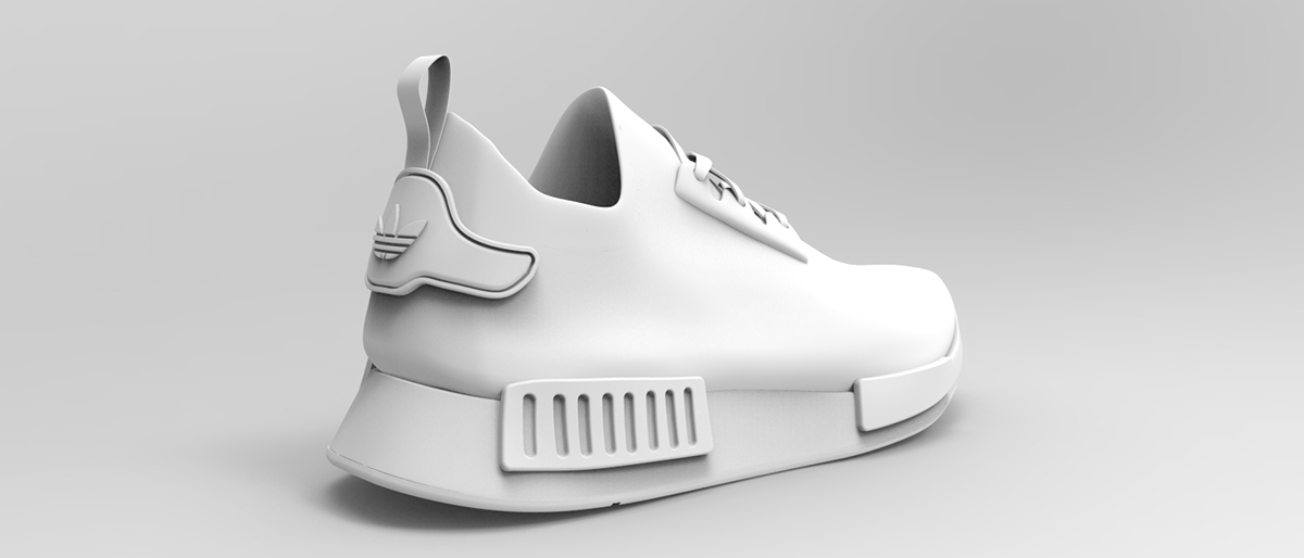 Adidas NMD R1 - 3D on Behance