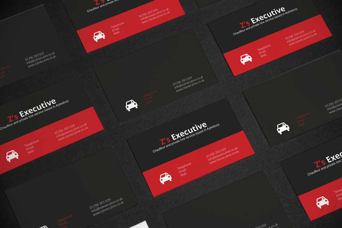 Ash Edwards - Z\'s Executive (Business cards and flyers)