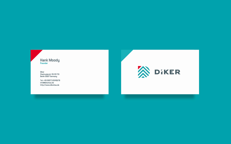 construction planning corporate identity logo Logotype berlin germany architect print pixelinme building business card Logo Design stationary