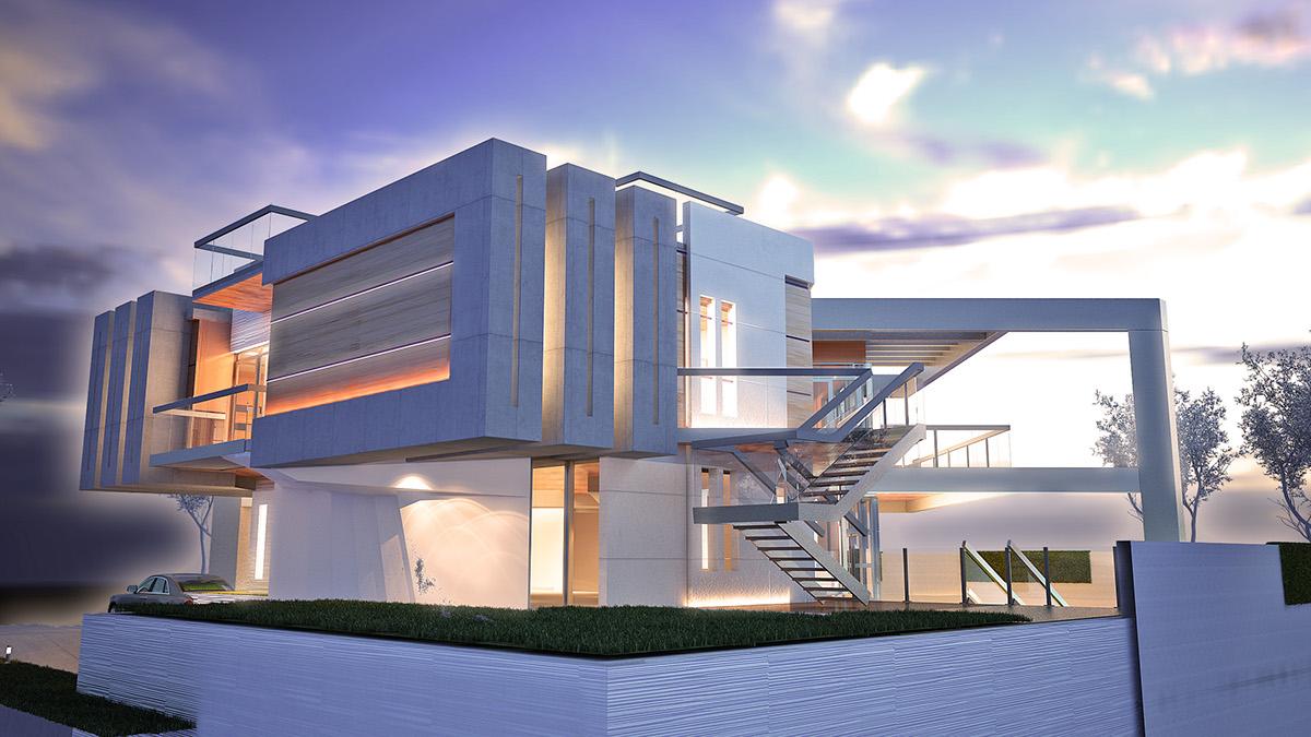 jumeirah pearl villa 2 day concept design on behance. Black Bedroom Furniture Sets. Home Design Ideas