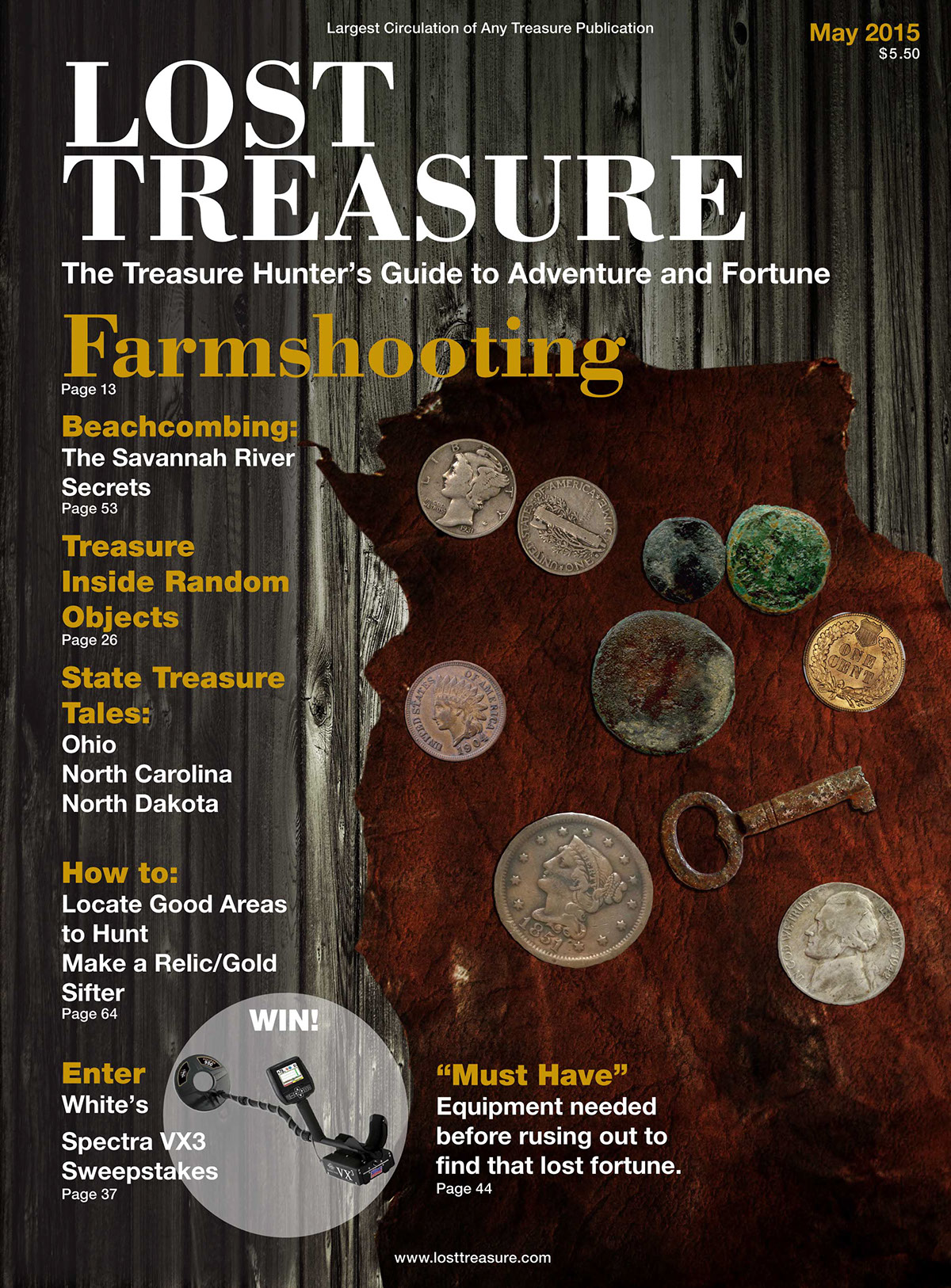 Lost Treasure - Publication Makeover on Behance