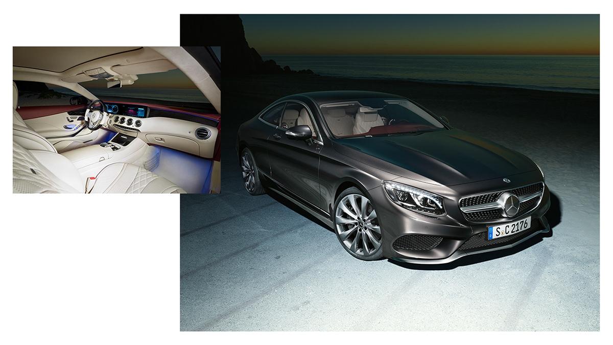 mercedes Mercedes Benz s class coupe risk an affair Advertising  antoni S klasse la mercedes-benz