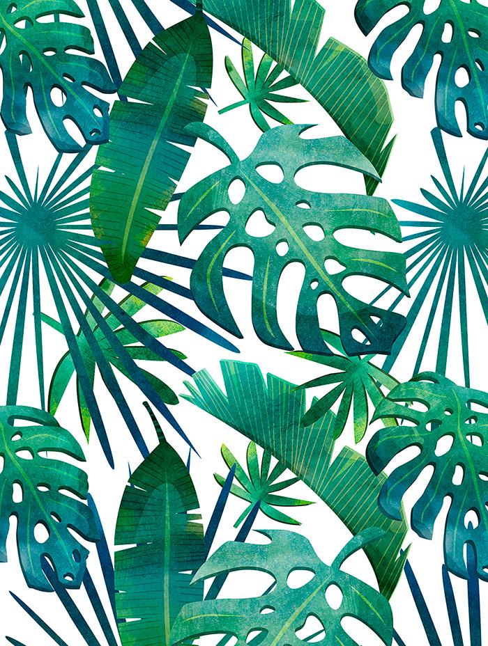 pattern mock up watercolor background Fruit flower ILLUSTRATION  print textile texture