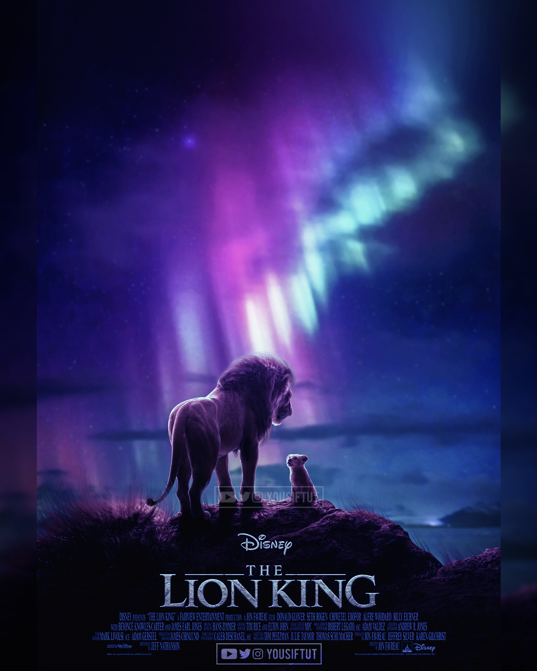 LION KING 2019 On Behance