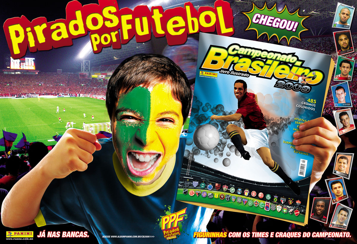 soccer sticker album campaign pop