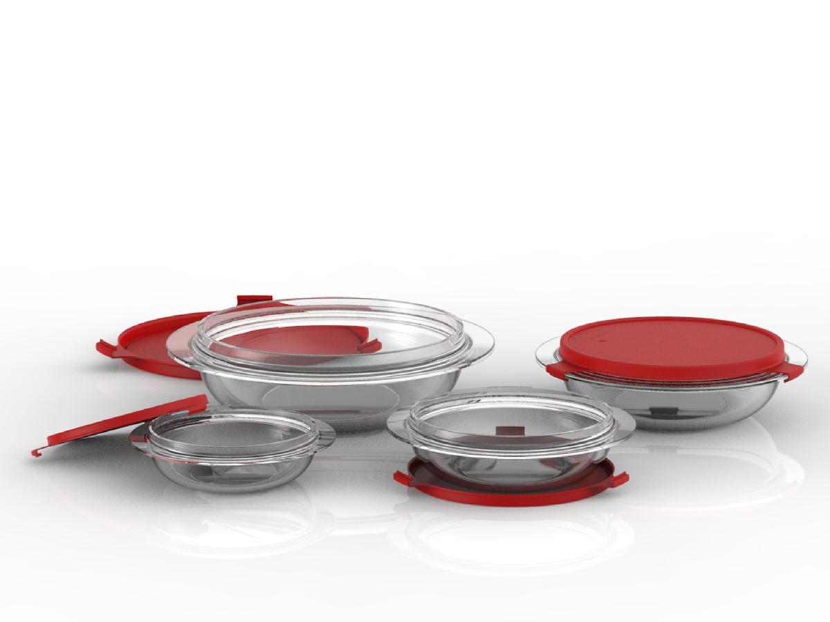 Adobe Portfolio glassware  bakeware glass crisa libbey