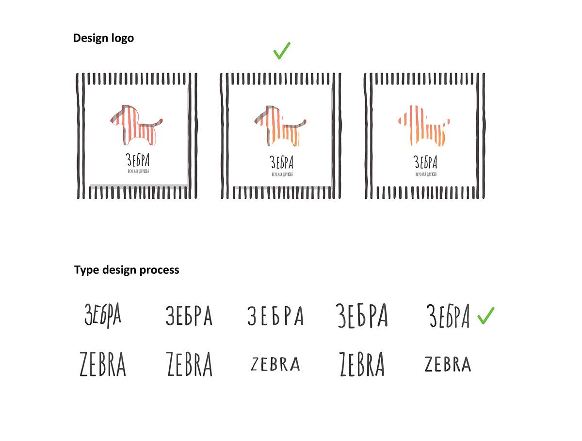 logo Logotype Packaging design ILLUSTRATION  Pizza Food  delivery