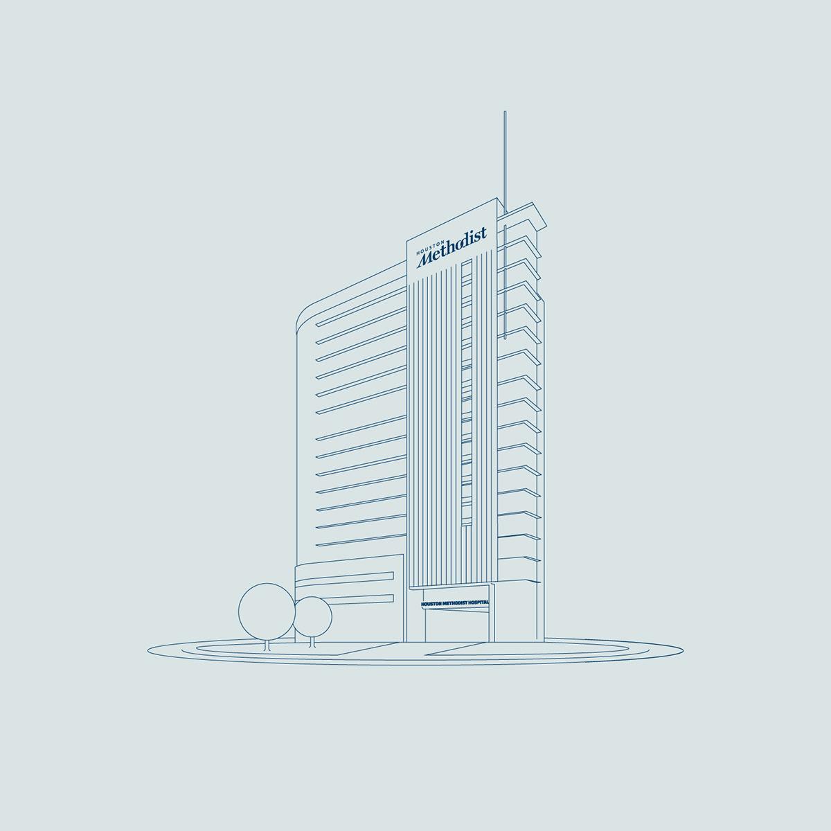 line art ILLUSTRATION  architecture clean monoweight simple branding  brand identity development graphic design