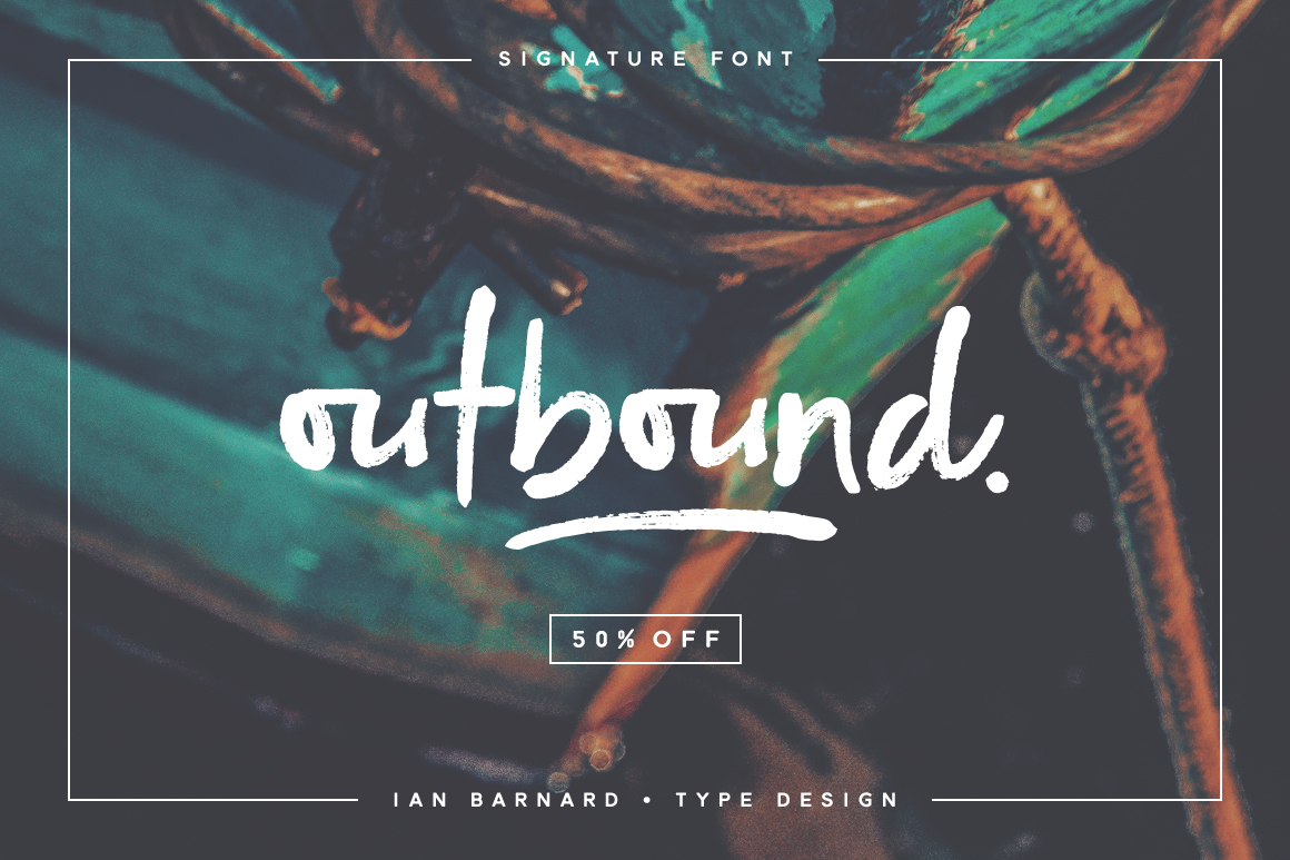 outbound signature typeface on behance outbound signature typeface on behance