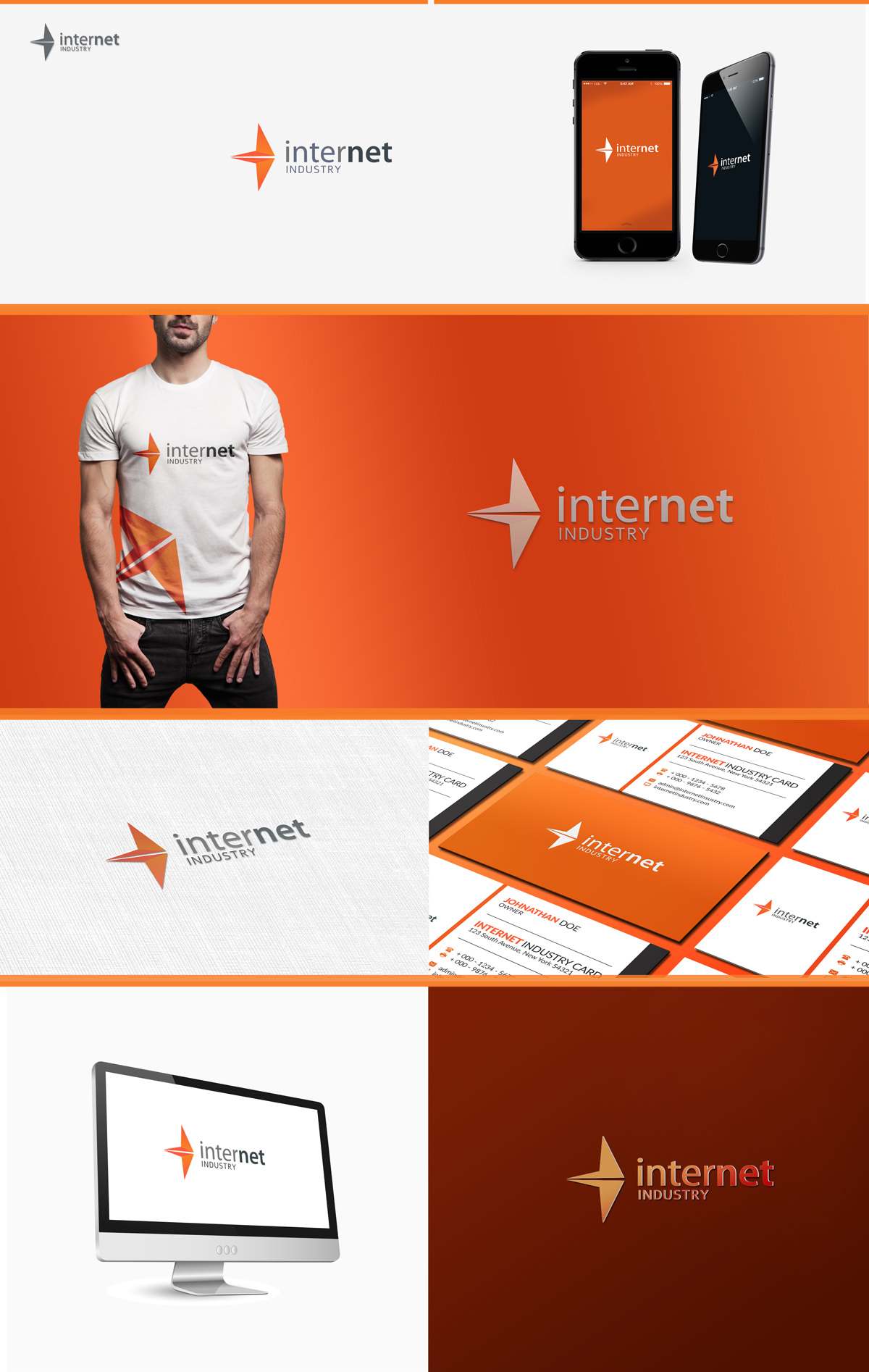 time saving logo presentation mock up on behance