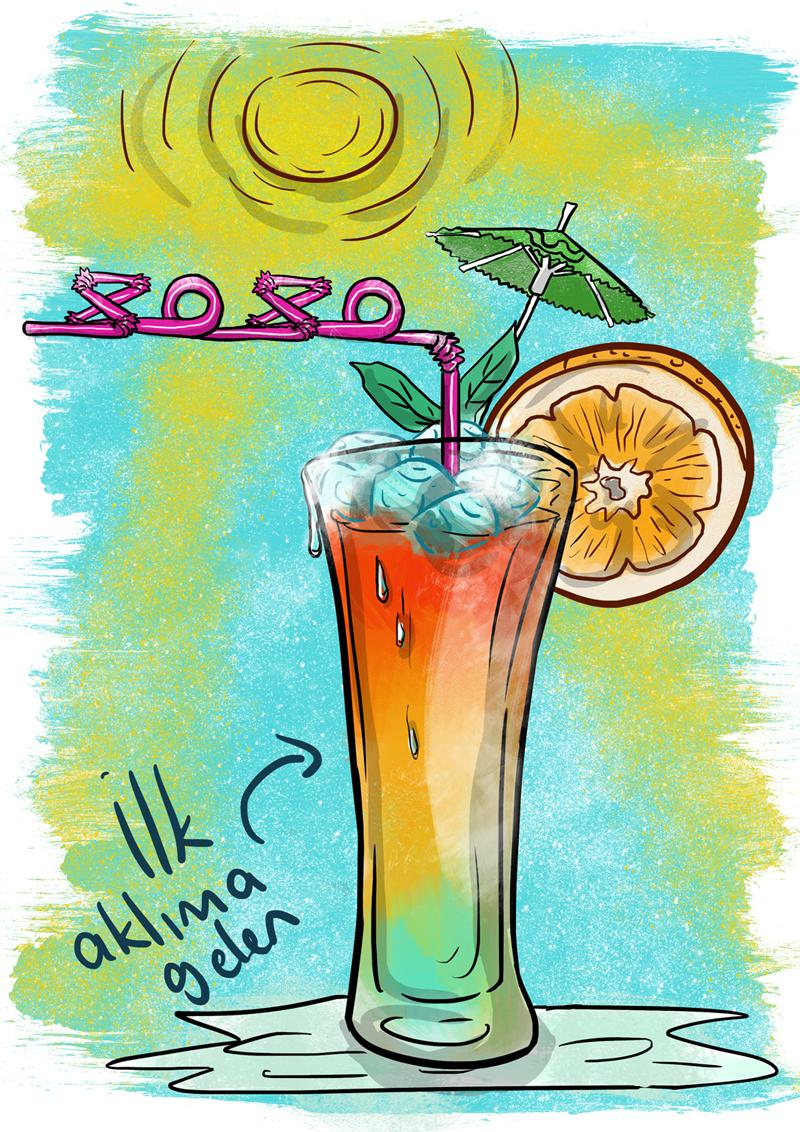magazine ILLUSTRATION  Drawing  doodle