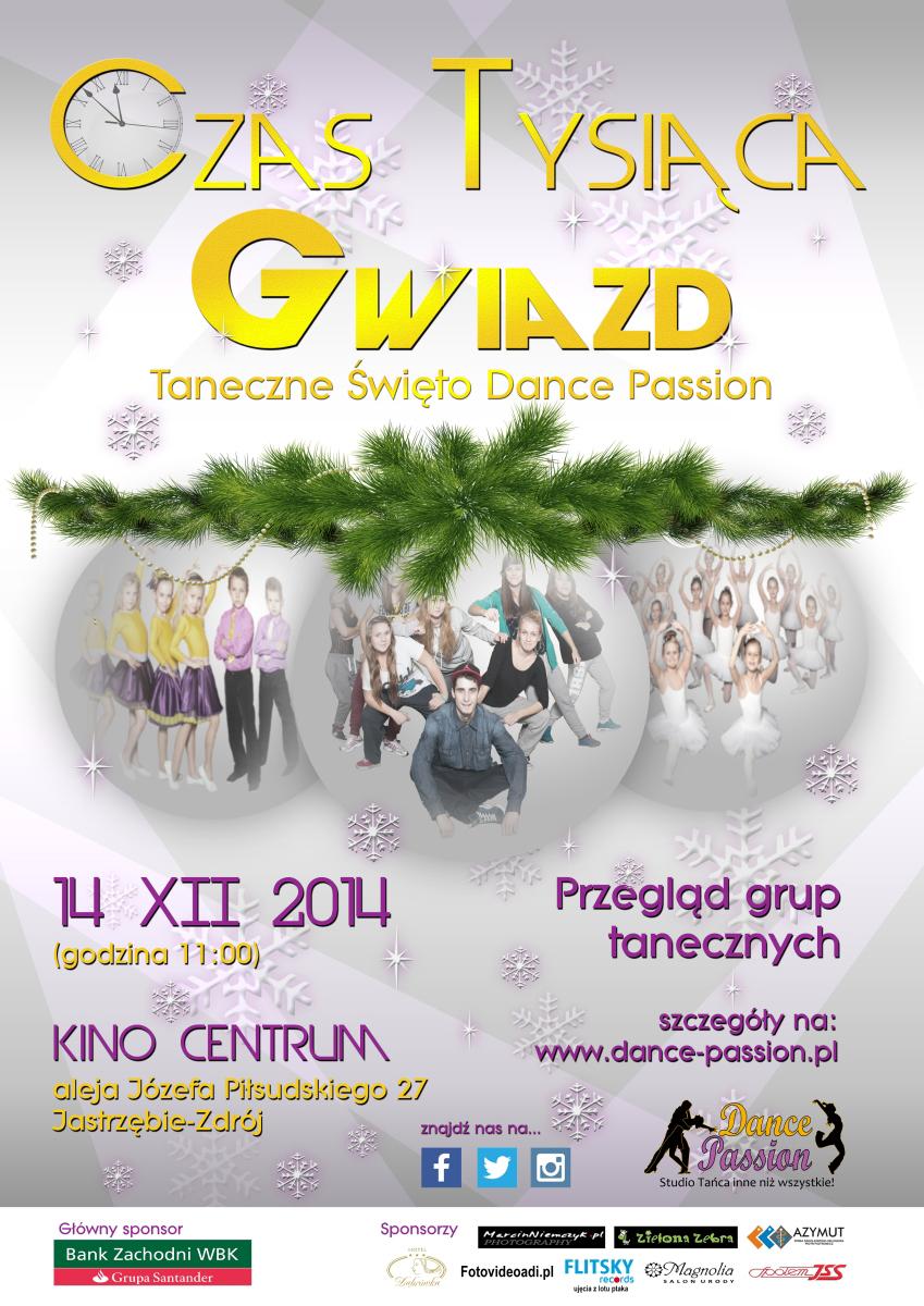 plakat taniec Web projekt