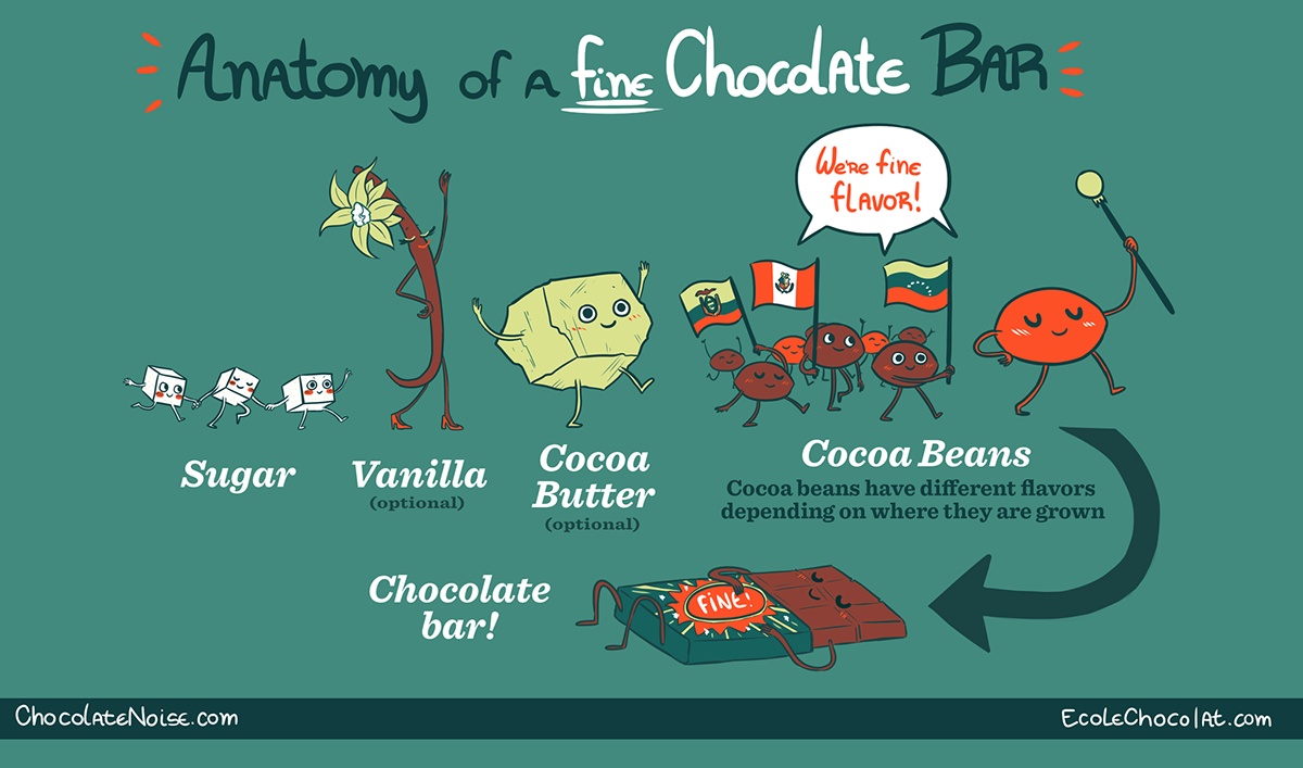 Process Of Making Chocolate